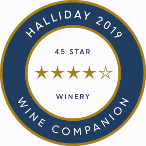 Halliday 2019 Wine Companion - 4.5 Star Winery
